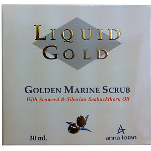 Anna Lotan Liquid gold Golden Marine Scrub 30ml