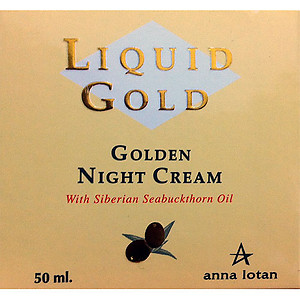 Anna Lotan Liquid Gold Golden Night Cream 50ml
