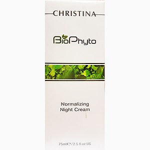 Christina biophyto Normalizing night cream 75ml