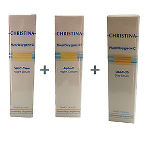 Christina - Fluoroxygen+C Rejuvenating & Lightening kit