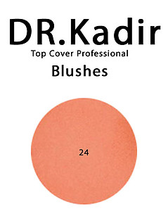 Dr. Kadir Top Cover Professiona Blushe 24 Indian earth  4gr