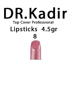 Dr. Kadir Top Cover Professional Lipsticks color8  4.5gr