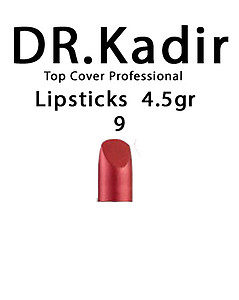 Dr. Kadir Top Cover Professional Lipsticks color9  4.5gr