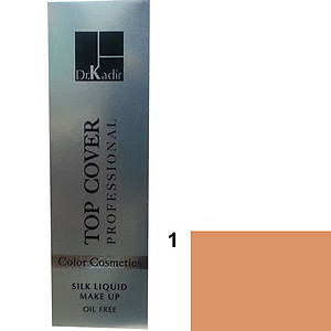 Dr. Kadir Top Cover Professional Liquid silk makeup color1 30ml
