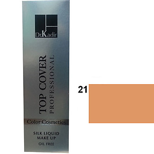 Dr. Kadir Top Cover Professional Liquid silk makeup color21 30ml