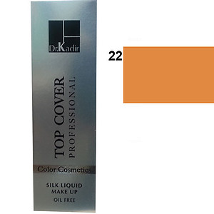 Dr. Kadir Top Cover Professional Liquid silk makeup color22 30ml