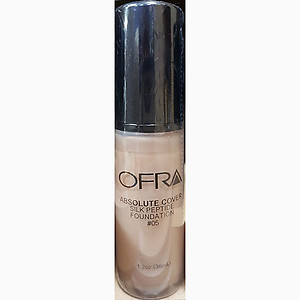 Ofra makeup absolute cover silk peptide foundation no.5 1.2Oz 36ml