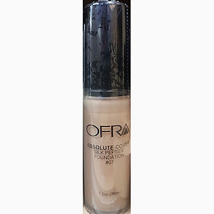Ofra makeup absolute cover silk peptide foundation no.7 1.2Oz 36ml