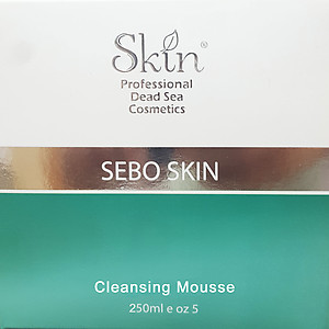 Skin Dead Sea Cosmetics Sebo skin Cleansing mousse 250ml