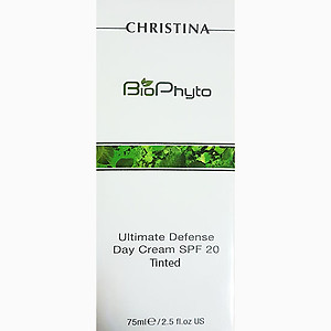 Christina biophyto ultimate defense TINTED day cream spf20 75ml