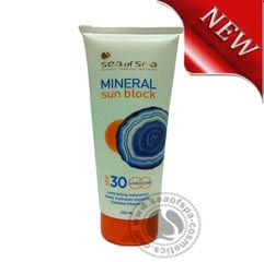 Sea of Spa PROTECTIVE MOISTURIZING CREAM SPF 30