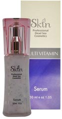 Skin Dead Sea Multi - Vitamin Serum 30ml