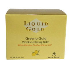 Anna Lotan Liquid gold Greeno - Gold Wrinkle Relaxing Balm 15ml