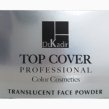 Dr. Kadir Top Cover Professional Translucent natural matte face powder NO 0 35gr