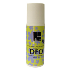 Dr. Kadir Women's DEO Deodorant Alcohol free - Aluminum free  (Roll On) Antipesperant 2.47oz