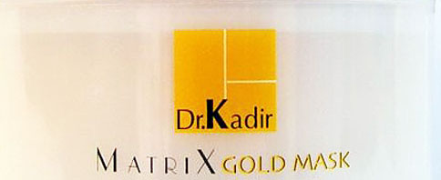 Dr. Kadir Gold Matrix nourishing cream normal to dry skin 50ml