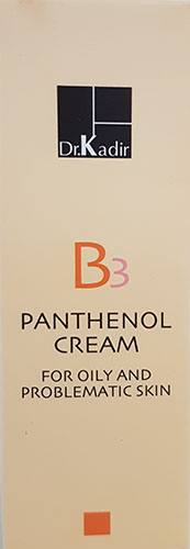 Dr. Kadir B3 pentanol cream for oily and problematic skin 75ml