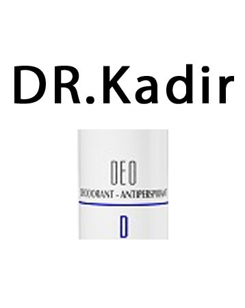 Dr. Kadir Deodorant Antiperspirant Alcohol Free D fregrance 70ml