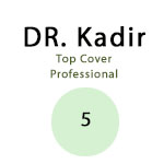 Dr. Kadir Top Cover Professional Concealer color5 Green for blurring reddish area 4.5gr