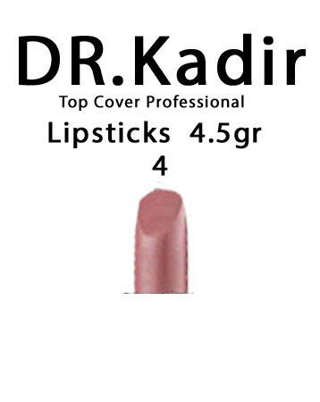 Dr. Kadir Top Cover Professional Lipsticks color4  4.5gr