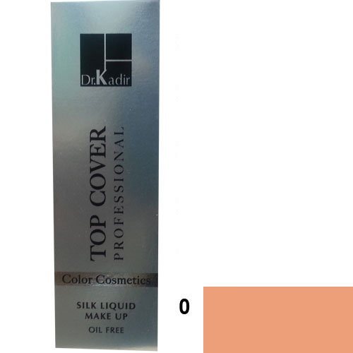 Dr. Kadir Top Cover Professional Liquid silk makeup color 0 30ml