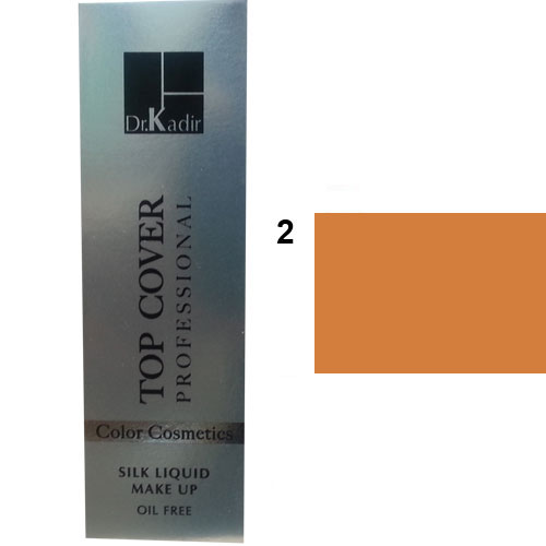 Dr. Kadir Top Cover Professional Liquid silk makeup color2 30ml