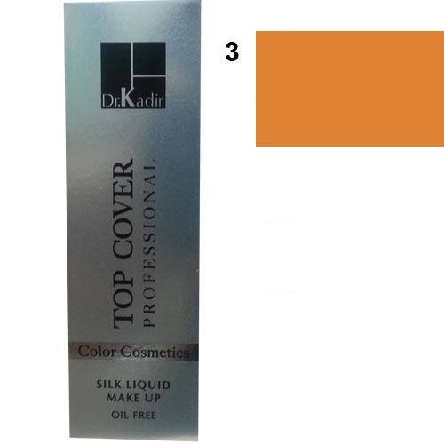 Dr. Kadir Top Cover Professional Liquid silk makeup color3 30ml
