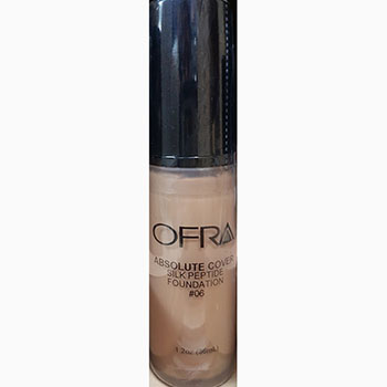 Ofra makeup absolute cover silk peptide foundation no.6 1.2Oz 36ml