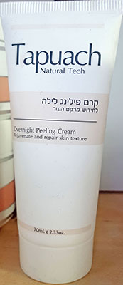 Tapuach Over Night Peeling Cream 70 ml