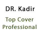 Dr. Kadir Top Cover Professional liquid Eyeliner black 5ml