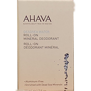 Ahava Dead sea water deodorant roll on mineral deodorant aluminium free enriched with minerals 50ml