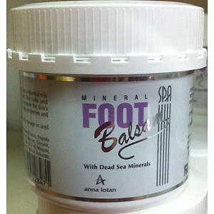 Anna Lotan spa mineral foot balsam with dead sea mineral 250ml
