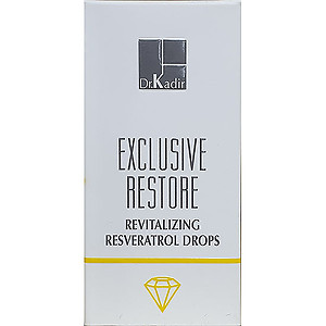 Dr. Kadir exclusive restore revitalizing resrveratrol drops