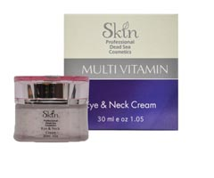 Skin Dead Sea Multi - Vitamin Eye and Neck Cream 50ml