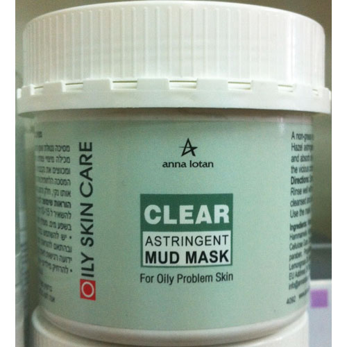 Anna lotan CLEAR Astringent Mud Mask 250ml