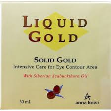 Anna Lotan Liquid Gold Solid Gold - Intensive care for eye contour area 30ml