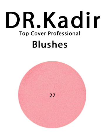 Dr. Kadir Top Cover Professiona Blushe 27 Peach red 4gr