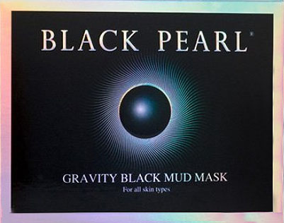 Black Pearl prestige G mask - Gravity Black Mud Mask for all skin types