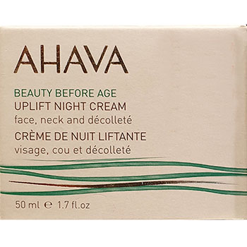 Ahava Beauty before age Uplift Night cream face neck & deccollete