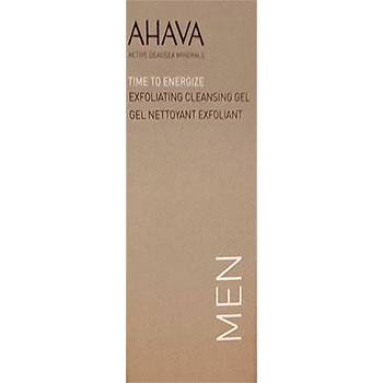 Ahava TIme To Energize Expoliating cleansing Gel man