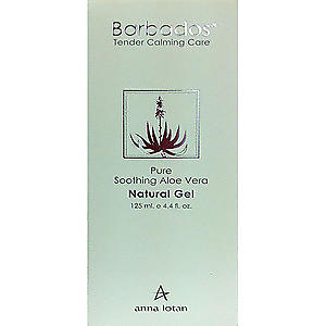 Anna Lotan - Barbados Pure Soothing Aloe Vera Natural Gel 125ml 4.4fl.oz