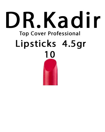 Dr. Kadir Top Cover Professional Lipsticks color10 4.5gr