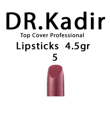 Dr. Kadir Top Cover Professional Lipsticks color5 4.5gr