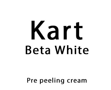 Kart Beta White pre peeling cream 50ml
