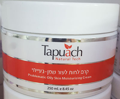 Tapuach Moisturizing cream for oily and problematic skin SPF 15 250 ml